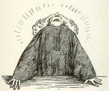 Illustrasjon dommer fra Wessels Rette Bager for Smed